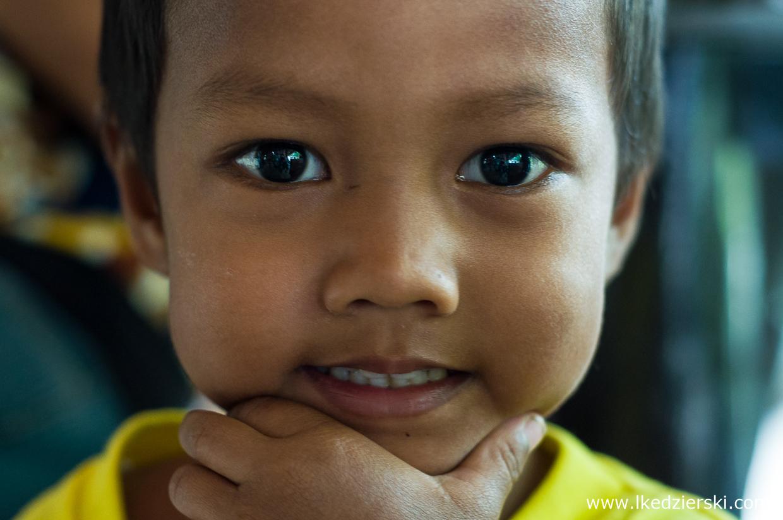 filipiny port barton wioska dzieci