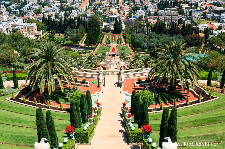 izrael hajfa światynia bahaistów atrakcje izraela co warto zobaczyć w izraelu