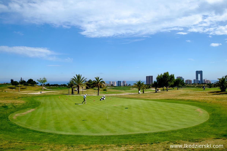 atrakcje benidorm golf
