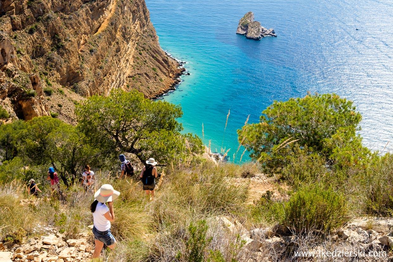 benidorm atrakcje trekking Serra Helada Natural Park atrakcje benidorm