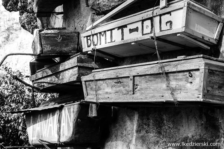 sagada hanging coffins wiszące trumny filipiny luzon atrakcje filipin