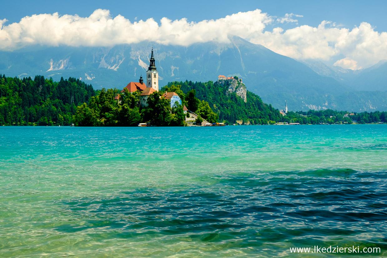 słowenia jezioro bled blejski otok