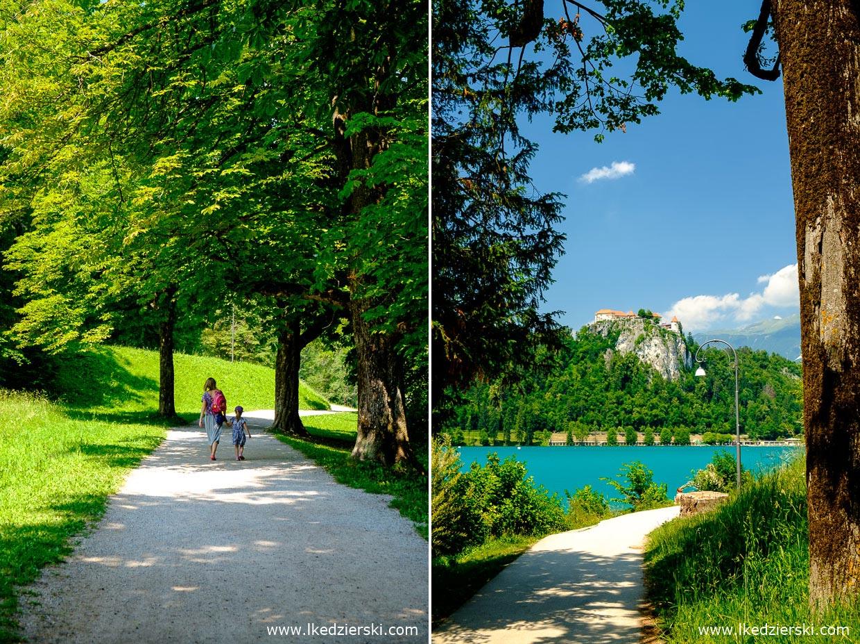 słowenia jezioro bled spacer