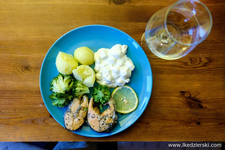 jedzenie w norwegii łosoś