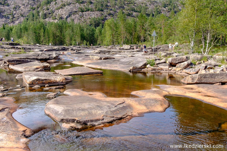 norwegia jettegrytene park wodny