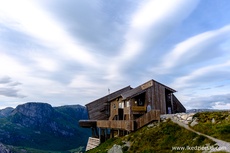 norwegia kjeragbolten trekking Øygardstølen