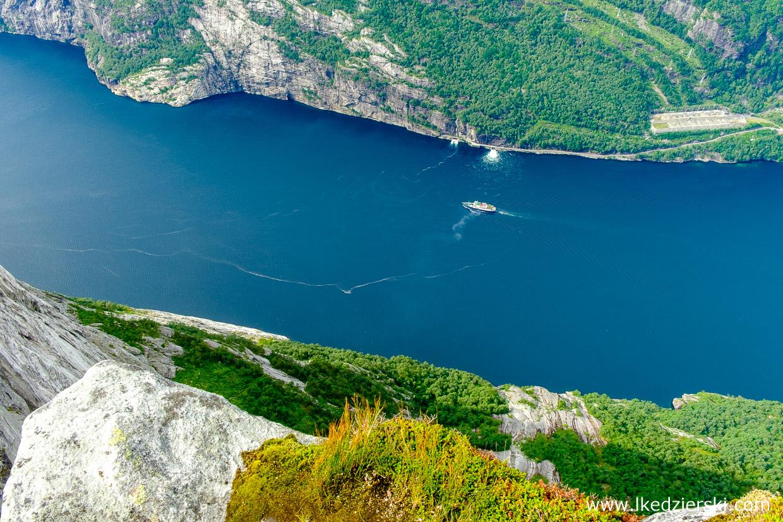 norwegia kjeragbolten trekking Lysefjorden
