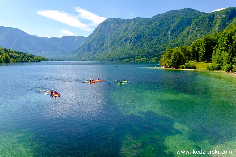 słowenia jezioro bohinj atrakcje słowenii