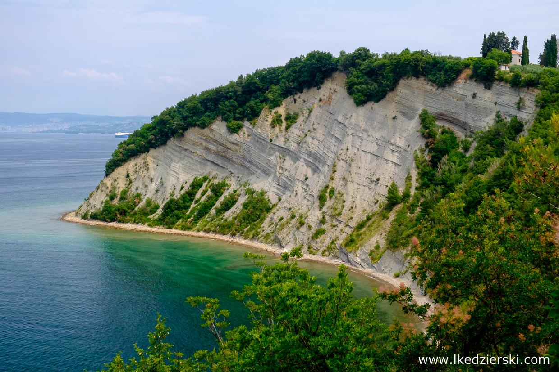 słowenia klify strunjan cliffs atrakcje słowenii