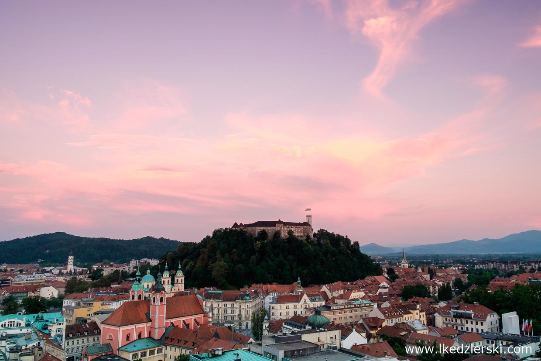 słowenia atrakcje słowenii lublana ljubljana stolica słowenii