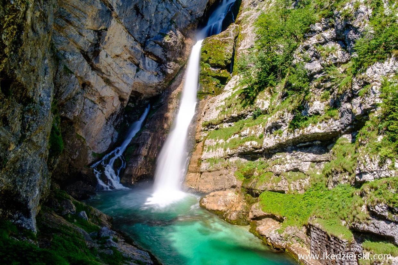 słowenia atrakcje słowenii wodospad savica waterfall