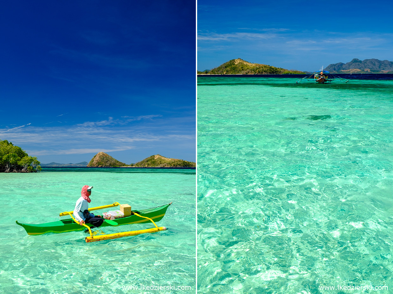 filipiny coron tour a la islas de coral boat island hopping tour a
