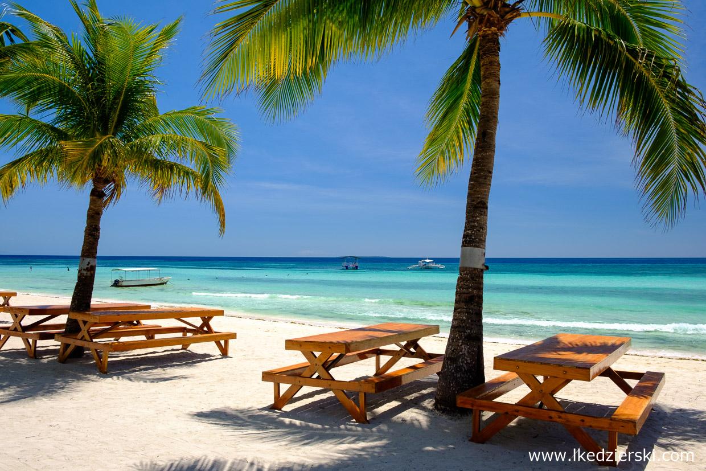 filipiny dumaluan beach philippines plaża