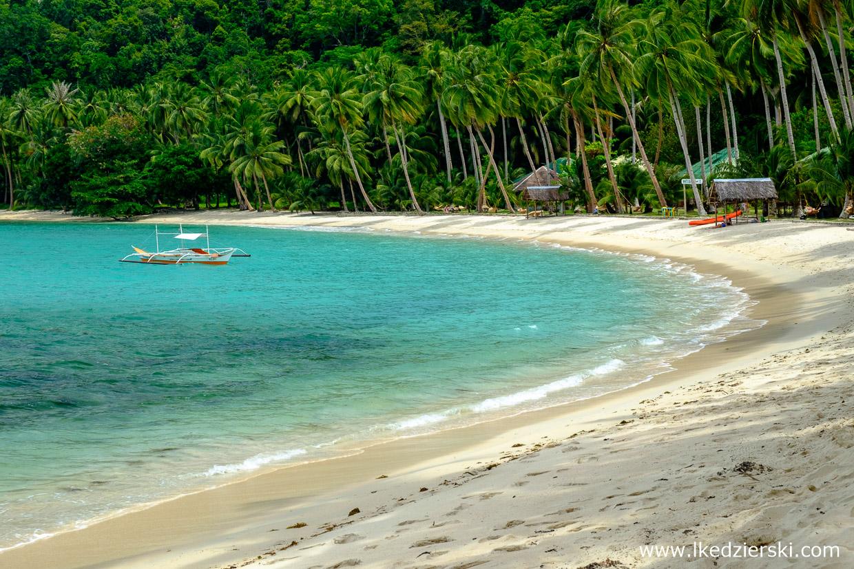 filipiny port barton plaża white beach