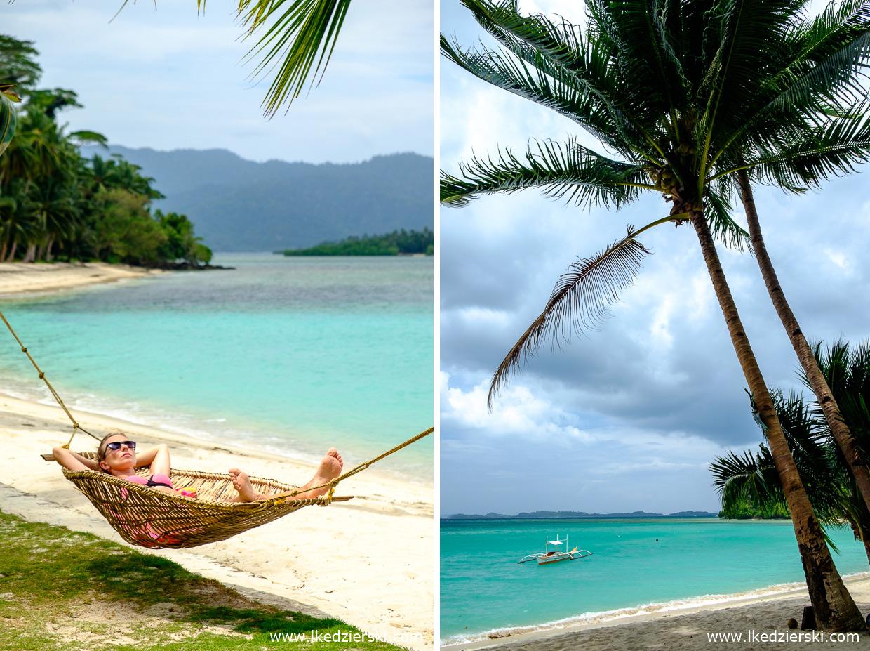 filipiny port barton plaża white beach nadia w podróży