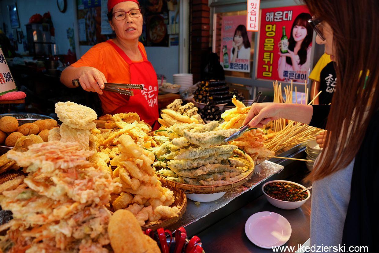 busan jedzenie tempura