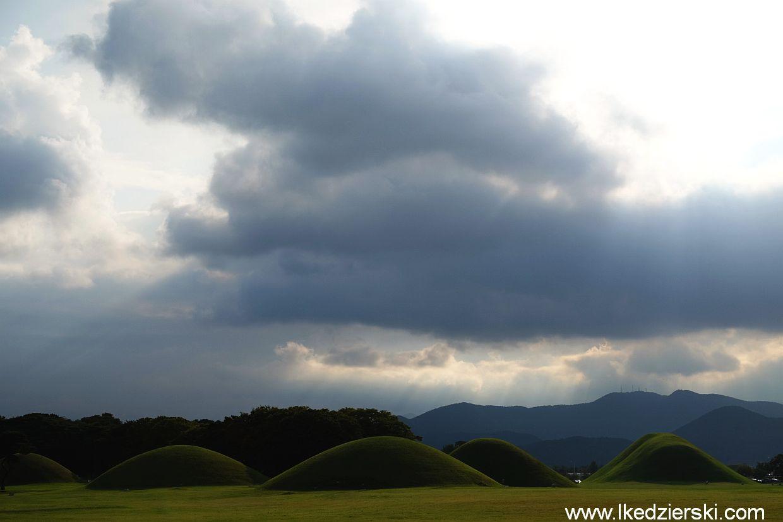 gyeongju grobowce