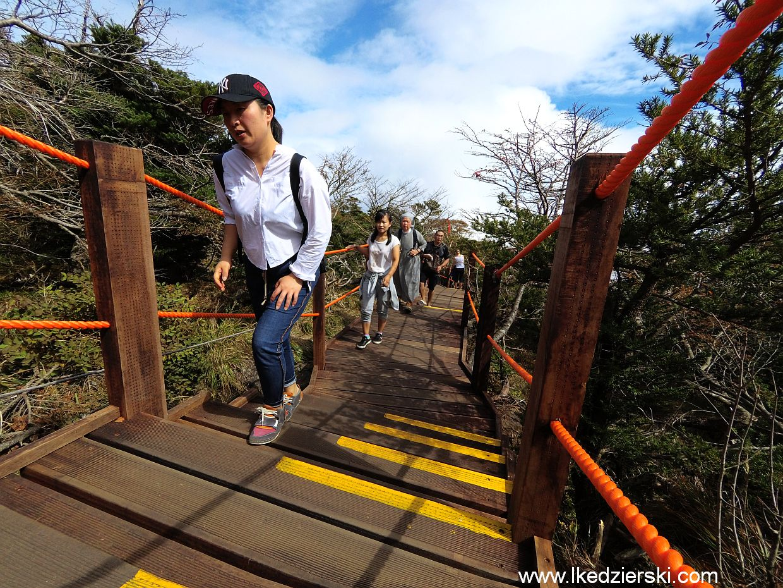 wyspa jeju trekking halla-san hallasan wulkan szczyt