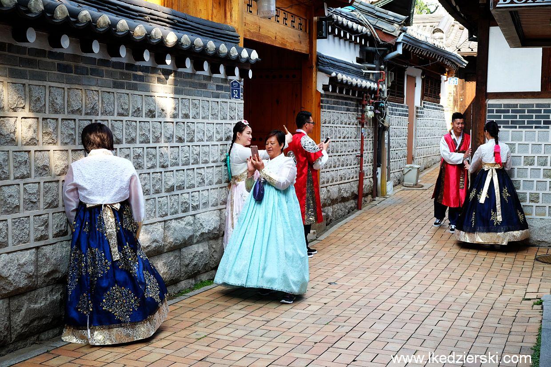 seul hanbok stroje