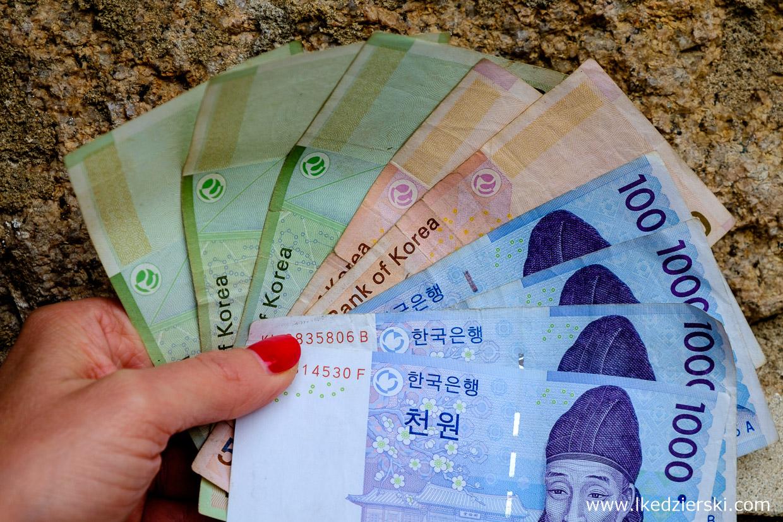 korea południowa waluta korea południowa informacje praktyczne