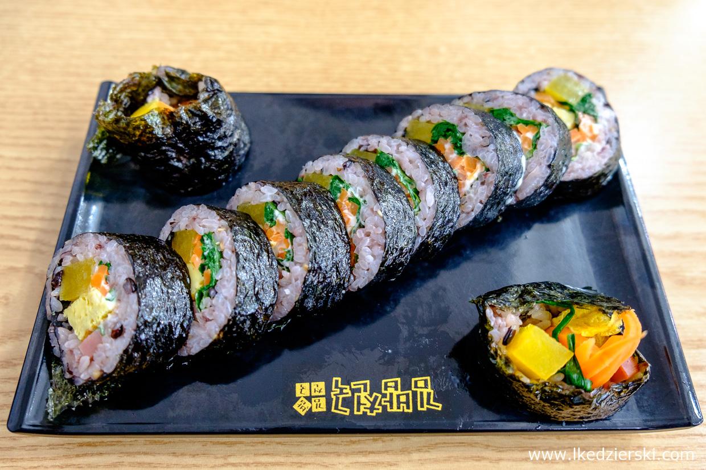 korea street food uliczne jedzenie w korei korean street food kimbap