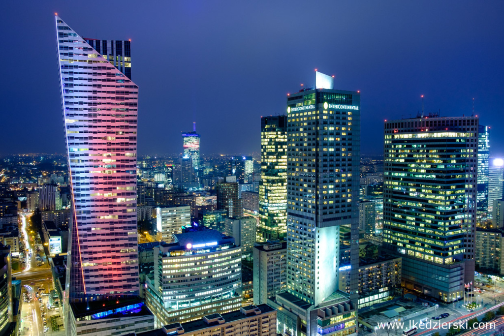 warszawa nocne zdjęcia