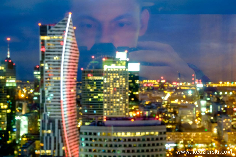 warszawa nocne zdjęcia zachód słońca złota 44 Hotel InterContinental Warszawa