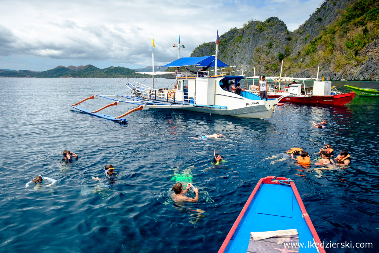 filipiny coron Island Hopping tour b