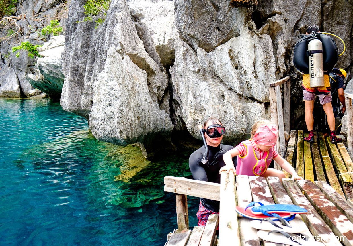 filipiny coron Island Hopping tour b Barracuda lake