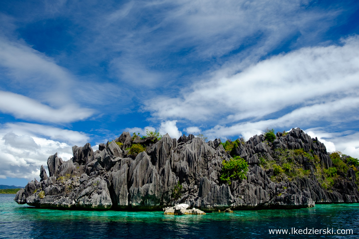 filipiny coron Island Hopping tour b twin lagoon atrakcje filipin