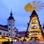 Górniczy jarmark bożonarodzeniowy w Freibergu