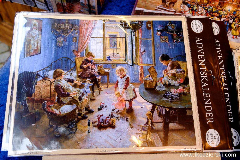 jarmark adventskalender kalendarz adwentowy co warto kupić na jarmarku