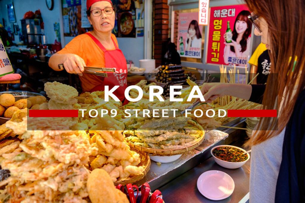 korea street food top jedzenie w korei
