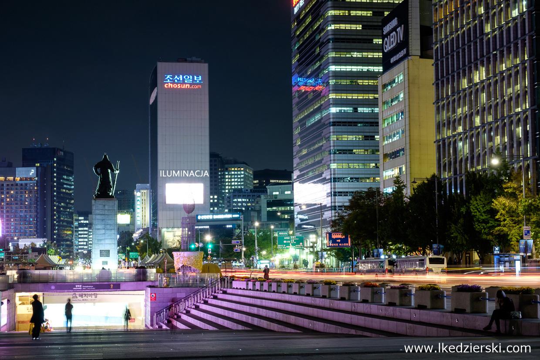seoul korea południowa nocna fotografia konkurs klm podróże marzeń klm