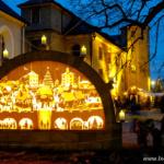 Jarmark bożonarodzeniowy w twierdzy Königstein