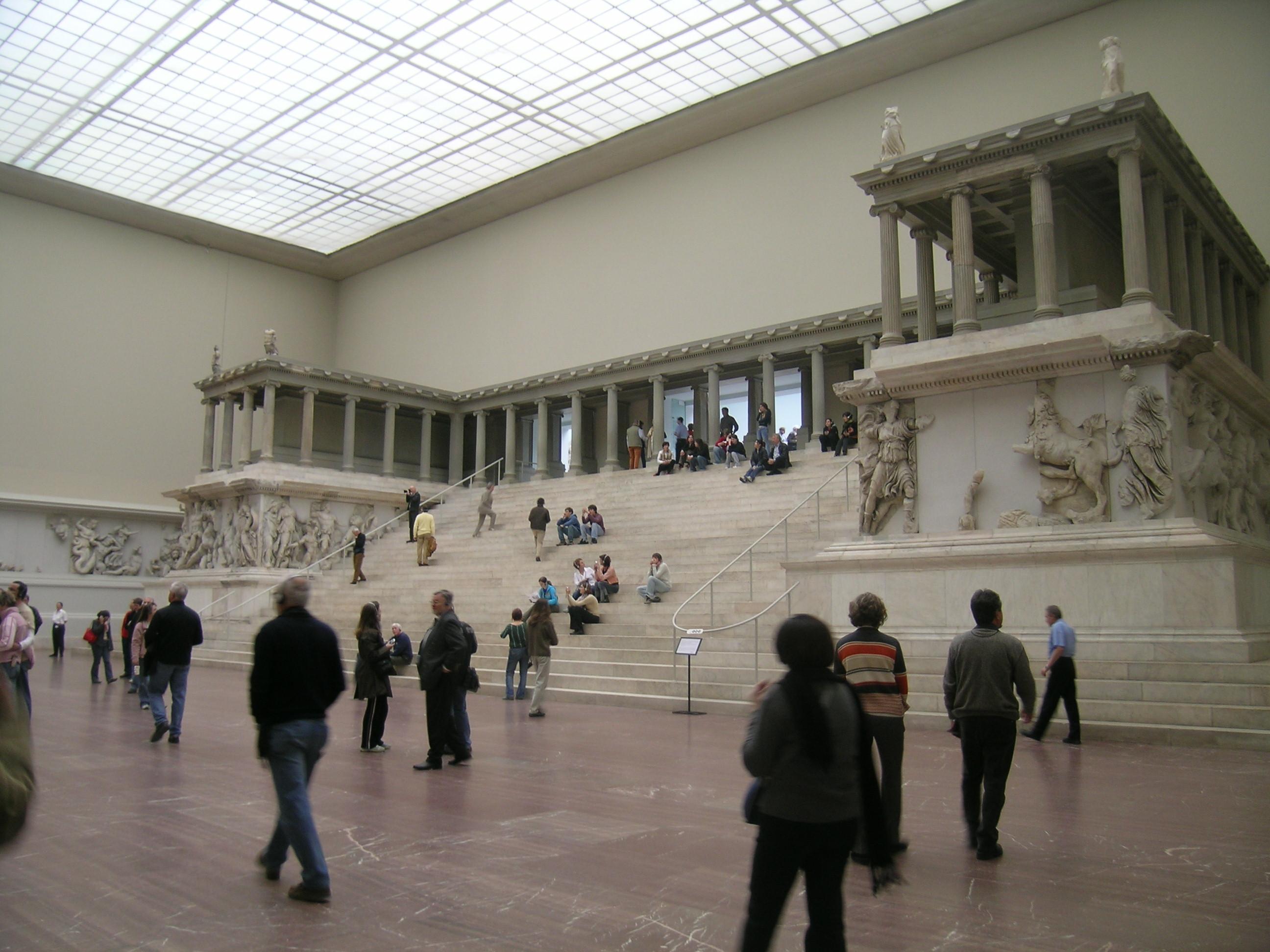 muzea w berlinie Muzeum Pergamońskie (Pergamonmuseum)