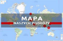 mapa naszych podróży