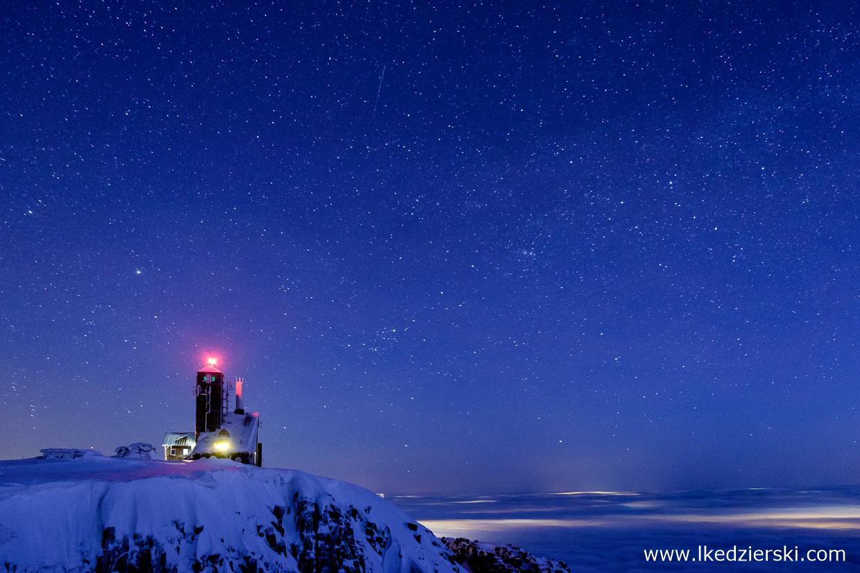 karkonosze noc na szlaku nocne zdjęcia karkonoszy nocne zdjęcia gór noc w karkonoszach