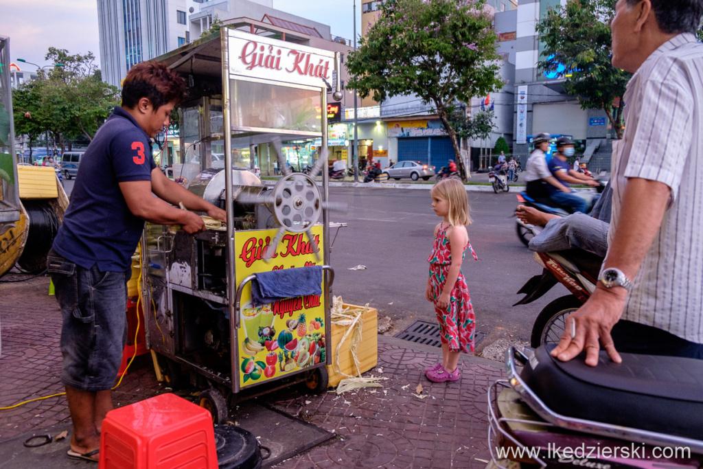 wietnam can tho sugarcane juice trzcina cukrowa
