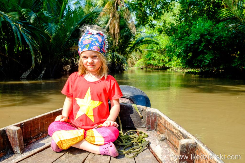 wietnam can tho delta mekongu pływające markety nadia w podrózy