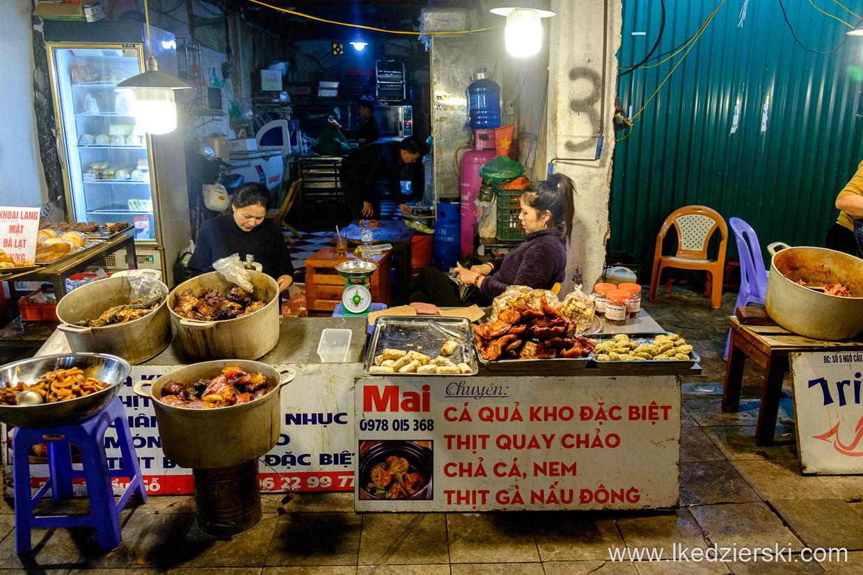wietnam hanoi ulica street food uliczne jedzenie