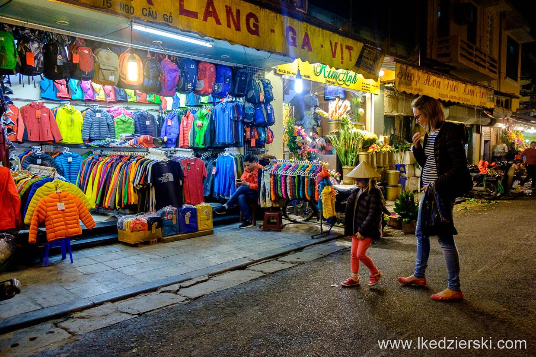 wietnam hanoi ulica