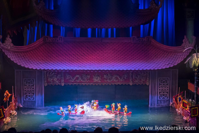 wietnam hanoi water puppet show