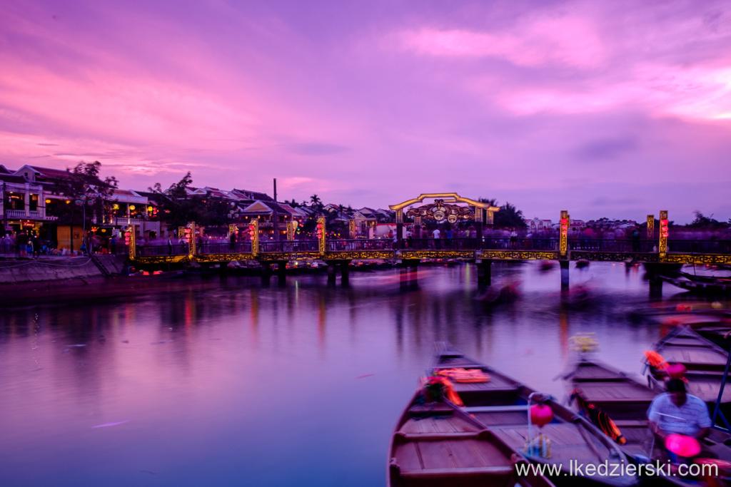 wietnam hoi an sunset zachód słońca