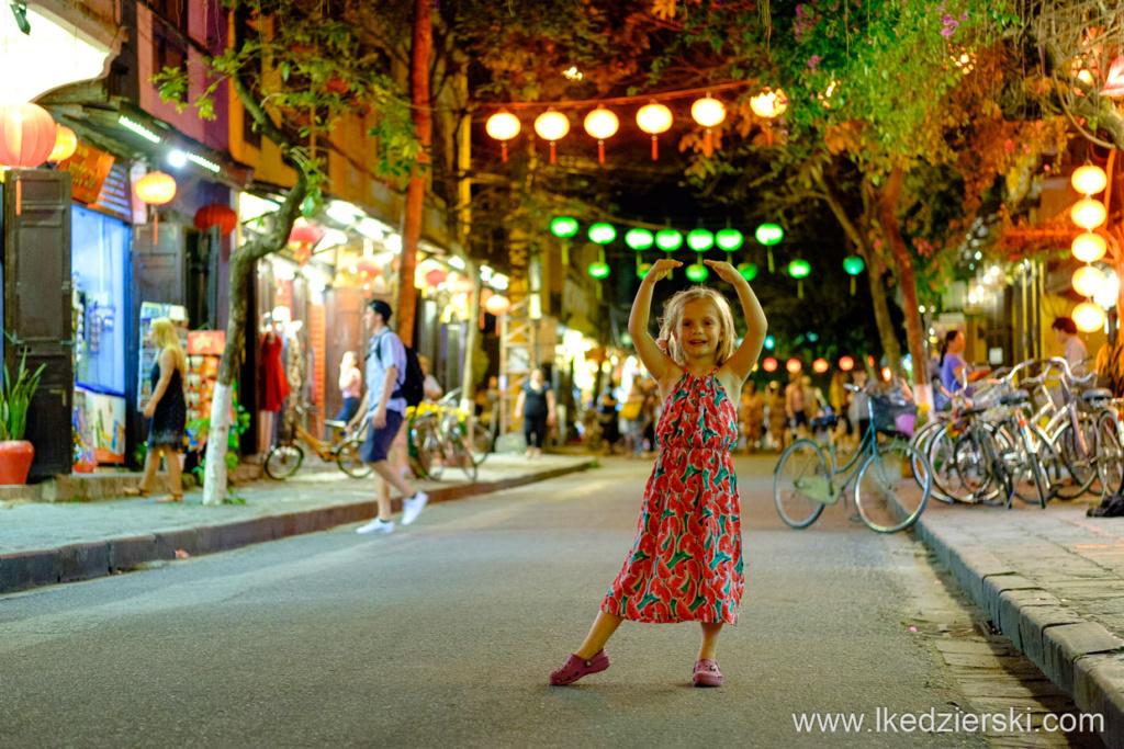 wietnam hoi an sunset zachód słońca nadia w podróży