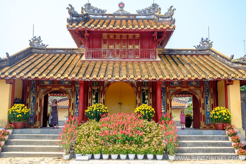 wietnam hue minh mang thomb grobowiec