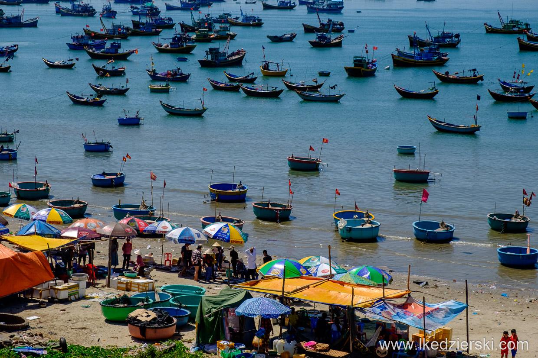 wietnam mui ne okolice fishing village
