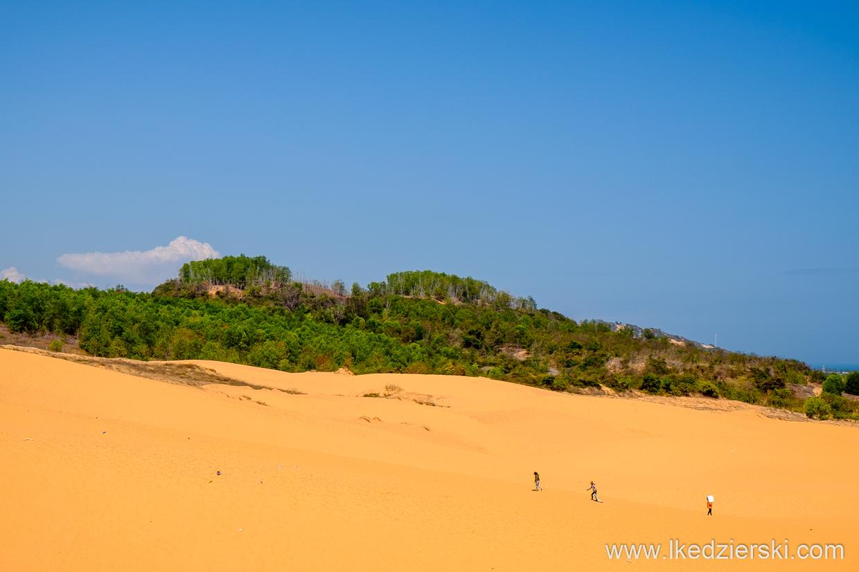 wietnam mui ne okolice czerwone wydmy
