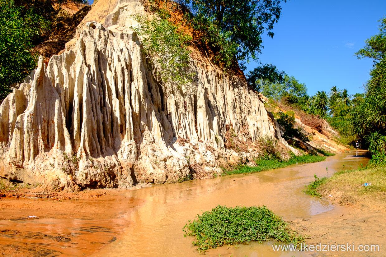 wietnam mui ne okolice fairy stream czerwony wąwóz