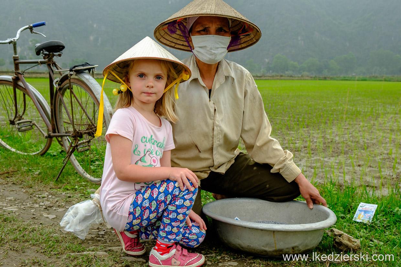 wietnam tam coc pola ryżowe